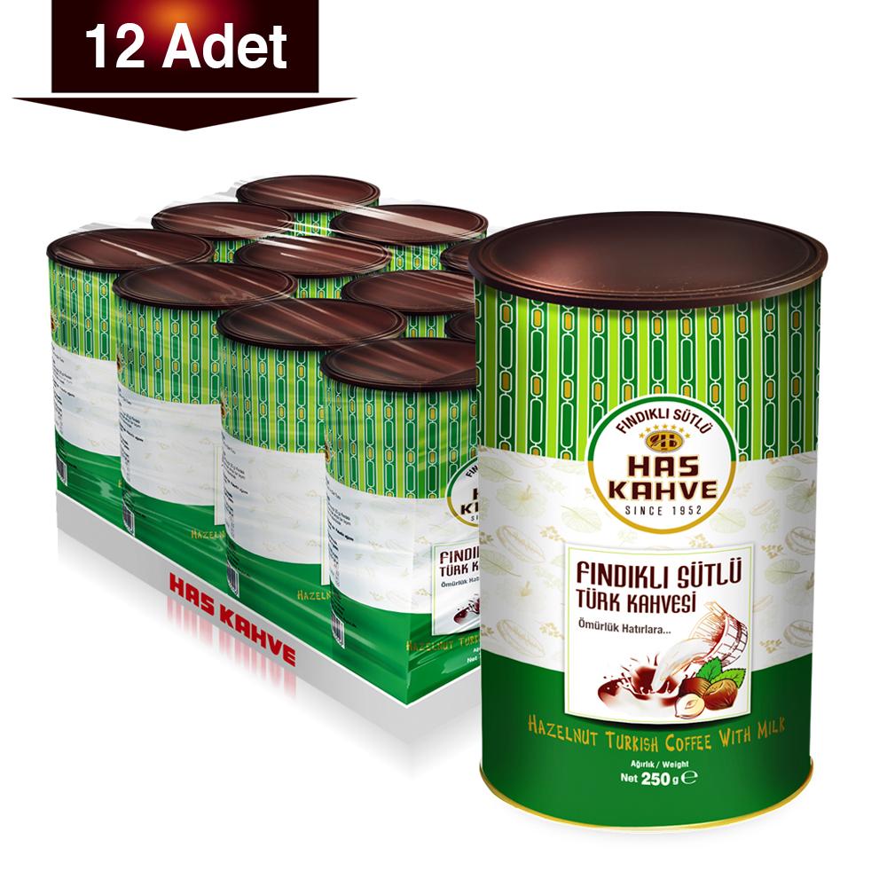 Milked Coffee with Hazelnut