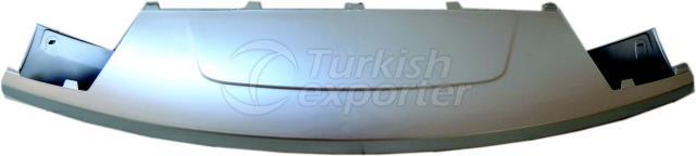 Нижняя накладка переднего бампера L