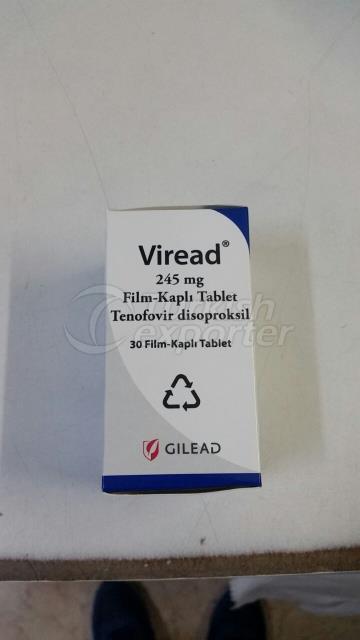 Comprimé pelliculé Viread