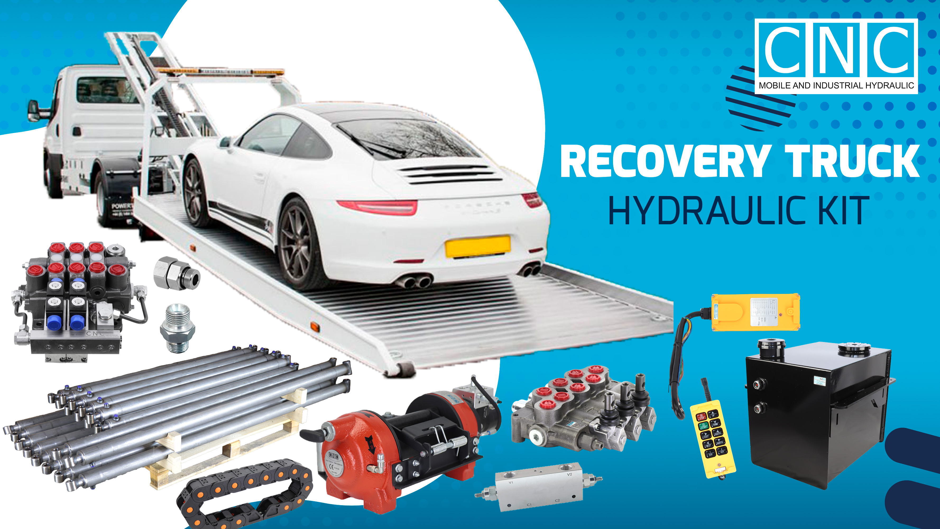 Recovery Truck Hydraulic Kit