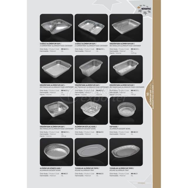 Aluminium Food Container Group