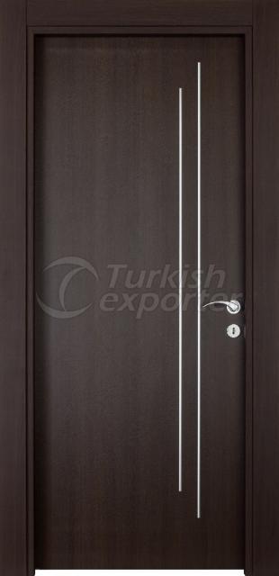 Wooden Door 1122-R Walnut