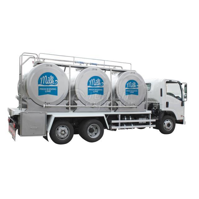 Tanque de transporte de leche