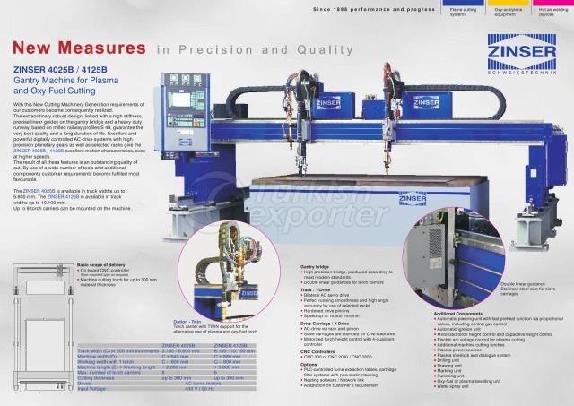 ZINSER CNC Sheet Cutting Machines