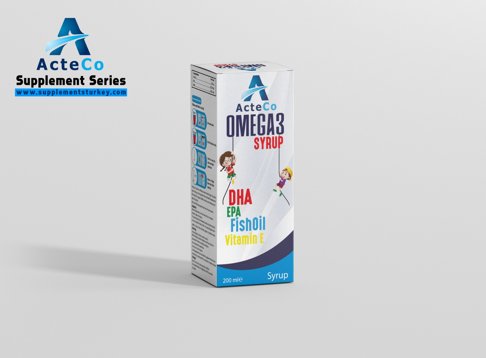 Acteco Pharma Omega 3 Syrup