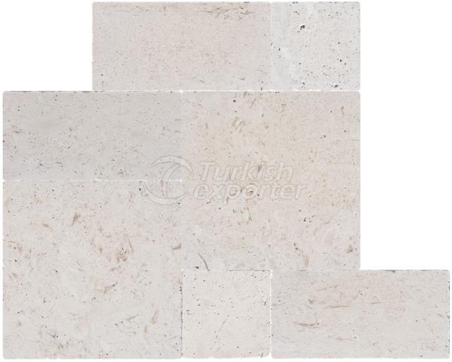 Shellstone Tumbled Paver 3cm Marble