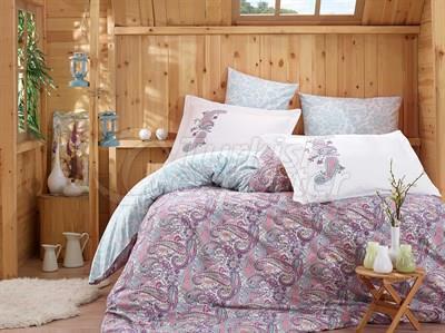Giulia Lilac - Poplin Single Bed Linen Set (8698499123694)