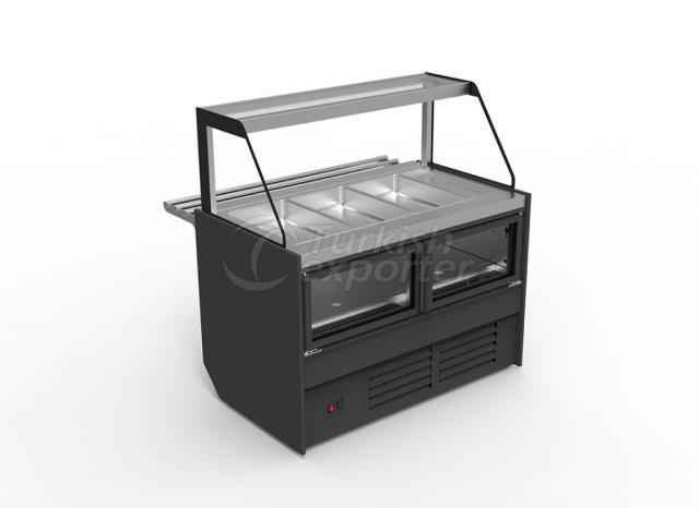 Plug-in Salad Bar Cabinet BUTTERFLY SB