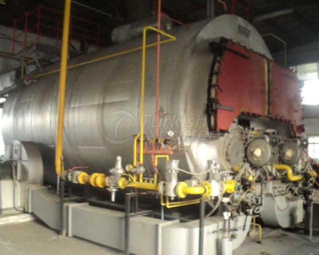 Fluid-Gas Fuel Steam Boilers