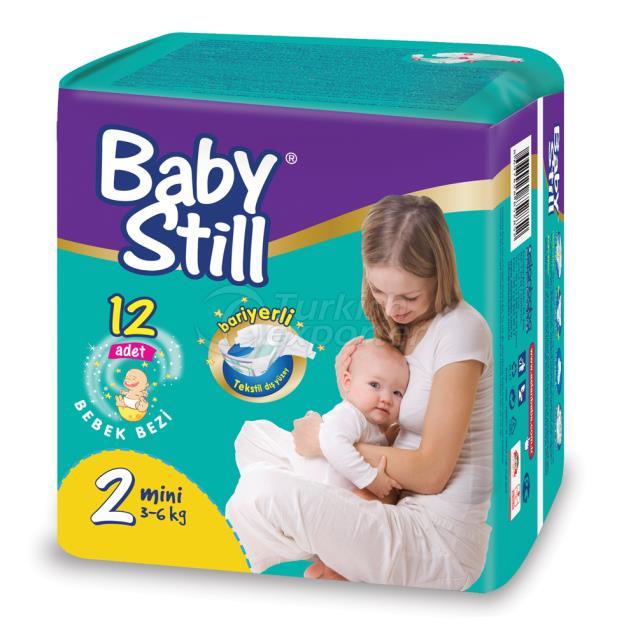 BABY DIAPERS STANDART PACK MINI