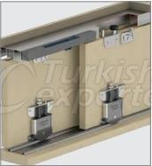 Adjustable Sliding Door System M03 SRG 130