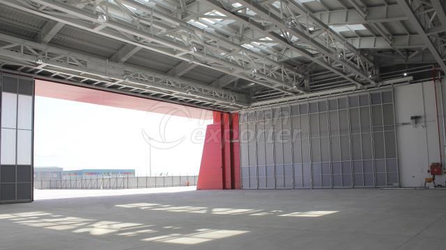 Side Sliding Hangar Door