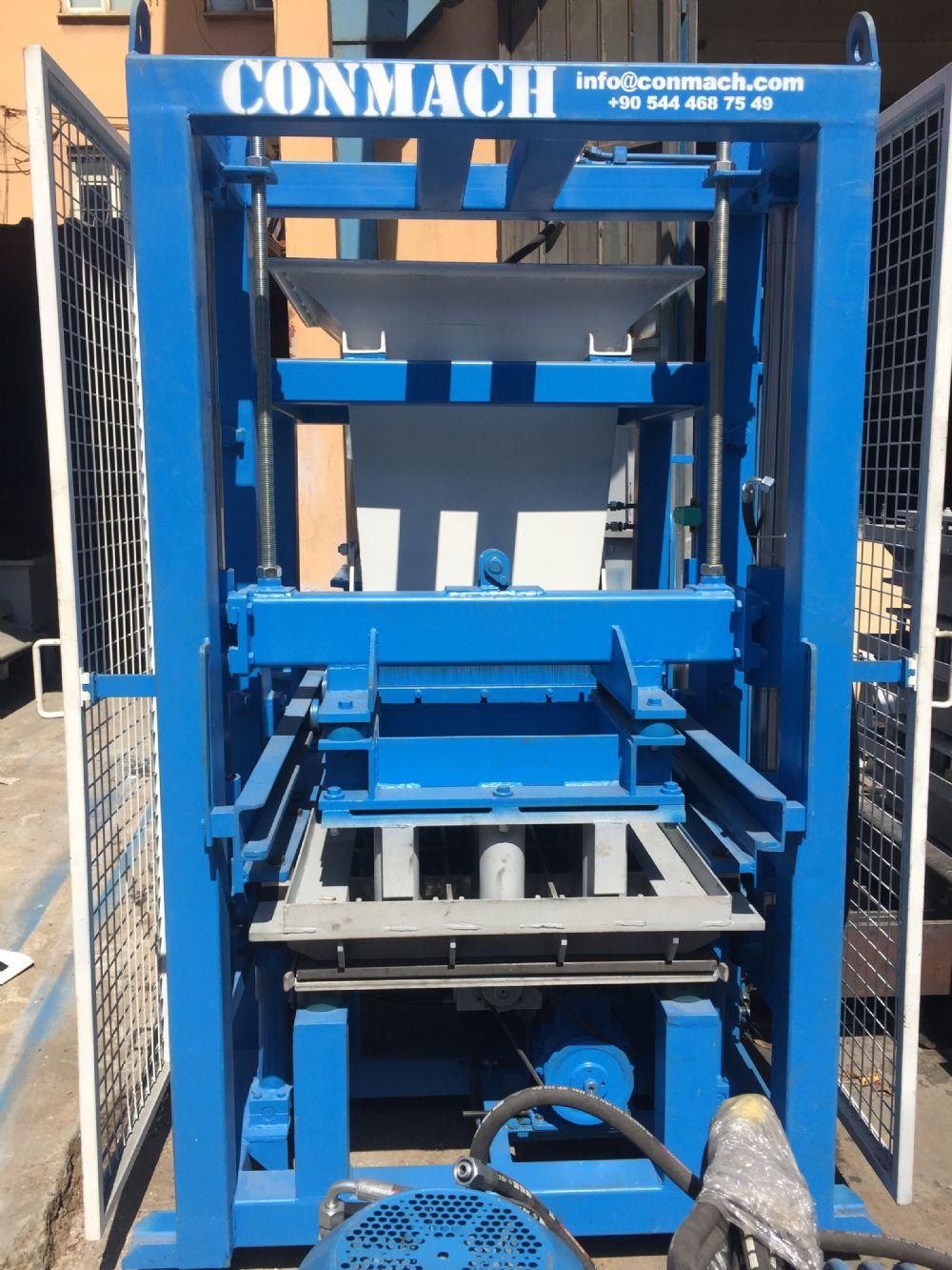 Concrete Block and Interlock Making Machines _1_