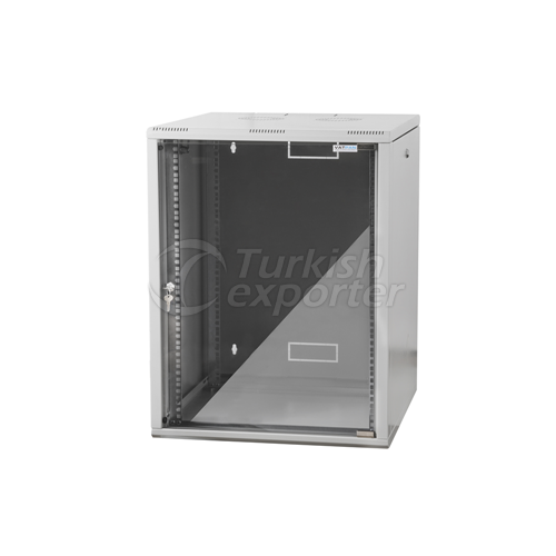 Wall Type White Rack Cabinet