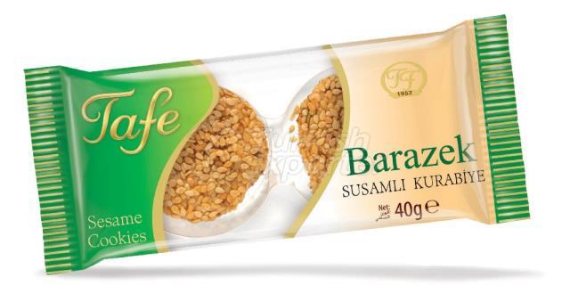Biscoitos Sesame Barazek 40g 262
