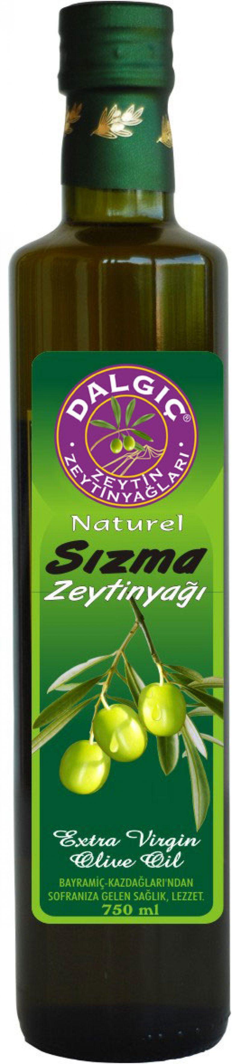 Extra Virgin Olive Oil-750 ml Dark Glass Bottle