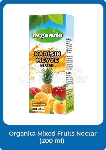 Organita Mixed Fruits Nectar
