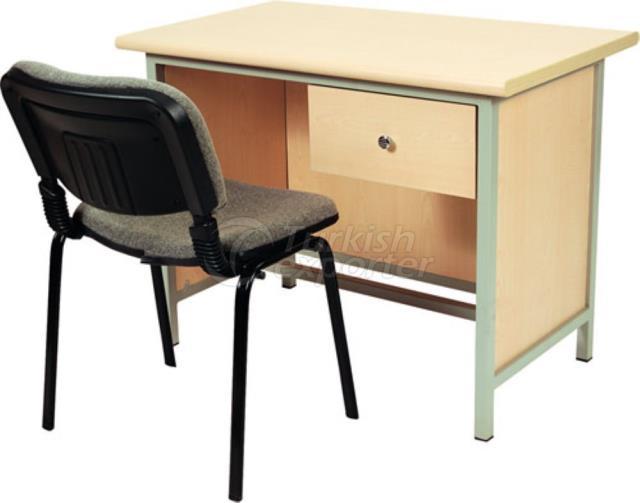 School Concept-Teacher Tables