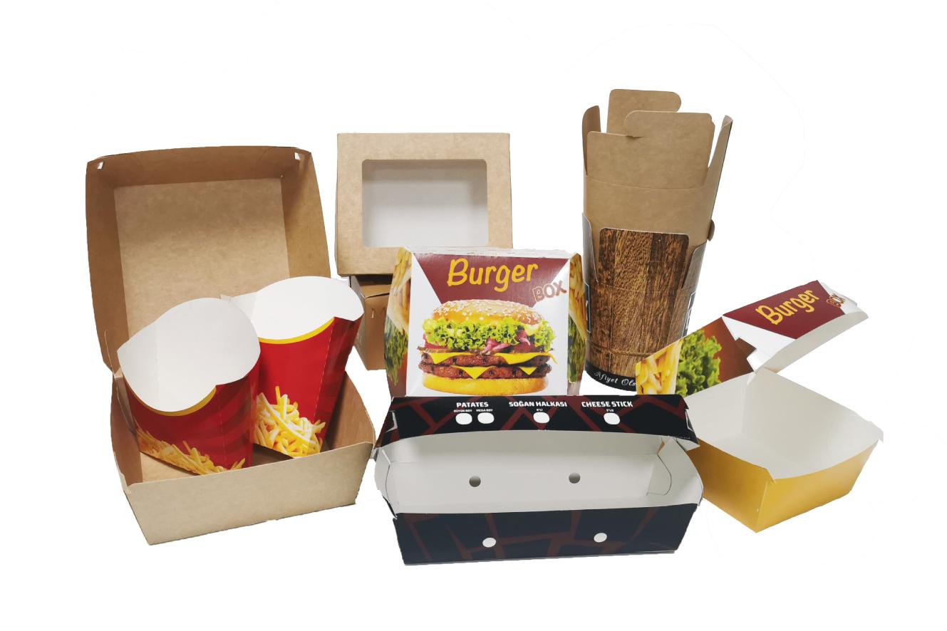 Caja de comida rápida