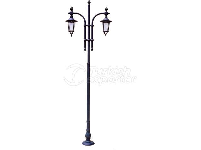 Double Lighting Poles
