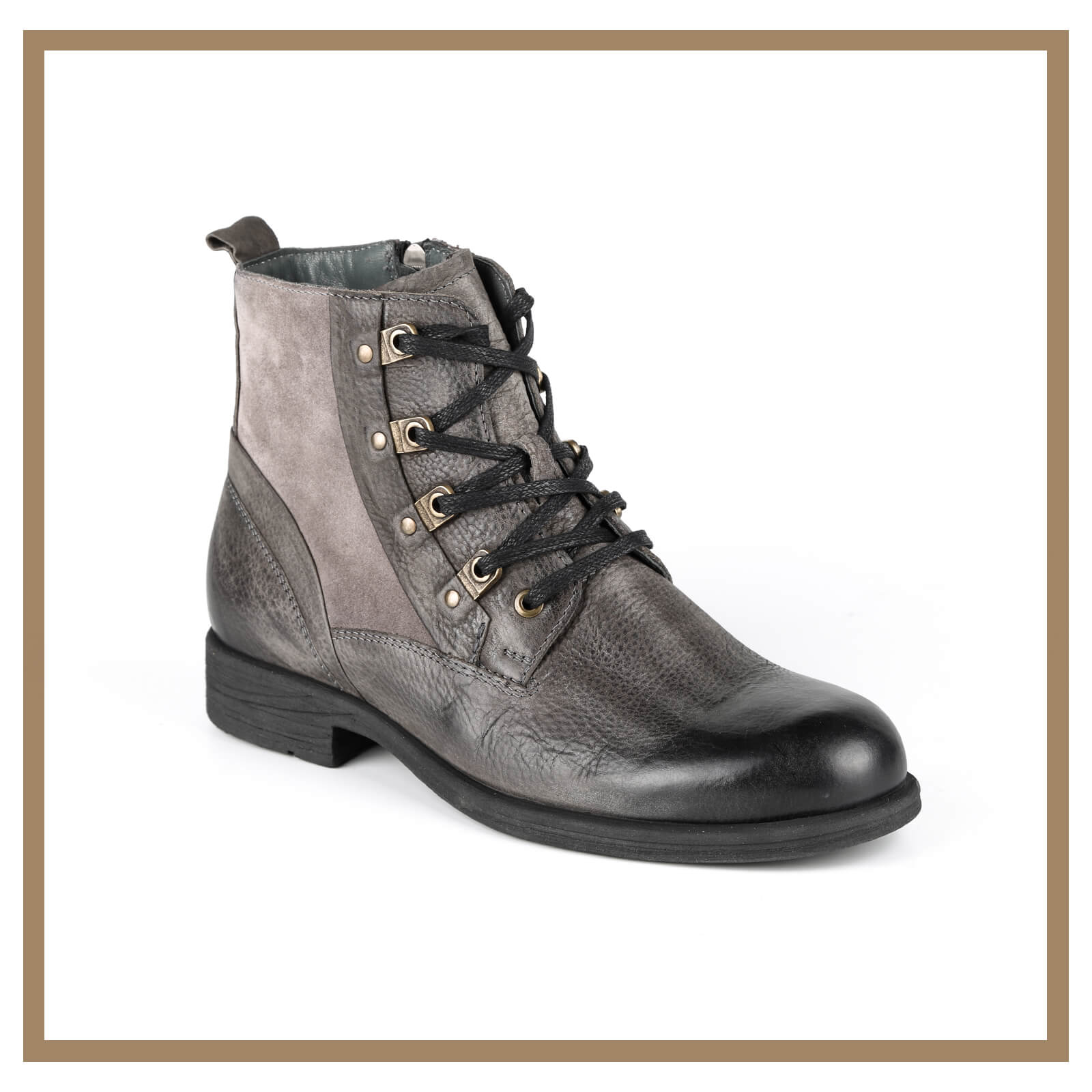 Leather Man Boots 006