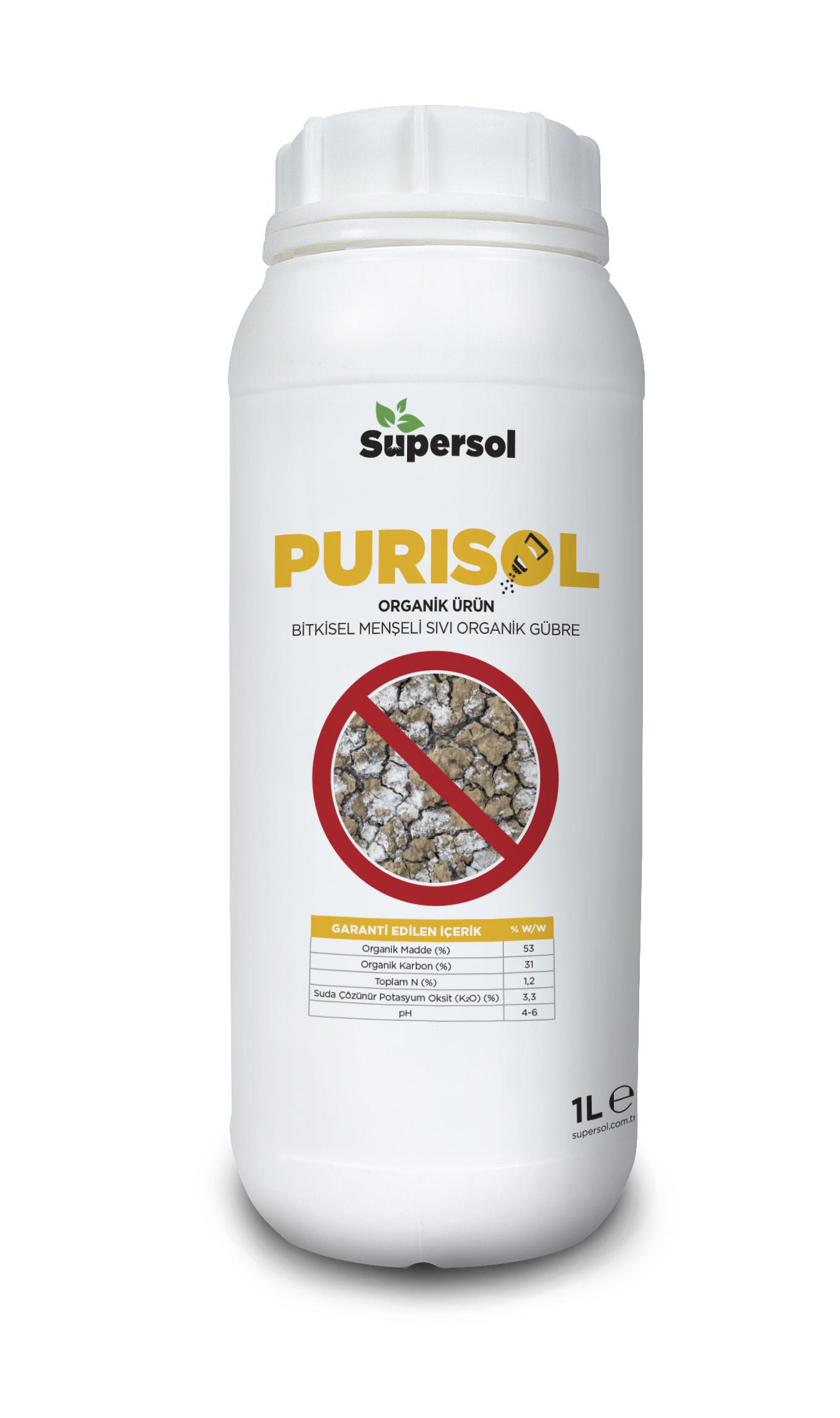 PURISOL (LIQUID ORGANIC FERTILIZER OF PLANT ORIGIN)