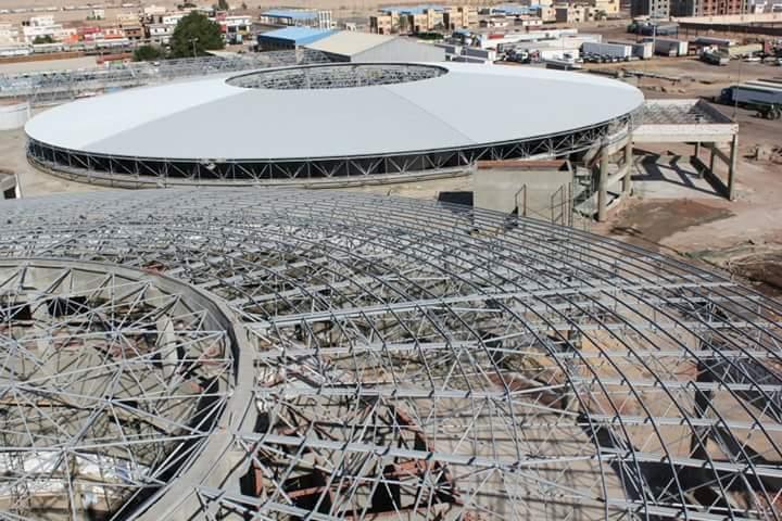 Stadium Structure Steel