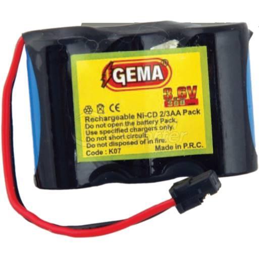 Wireless Batteries K07