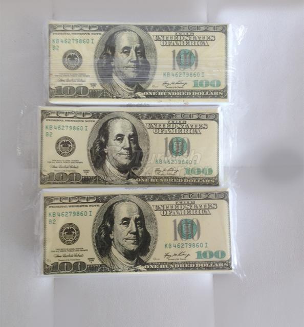 Dinero en forma de chocolate