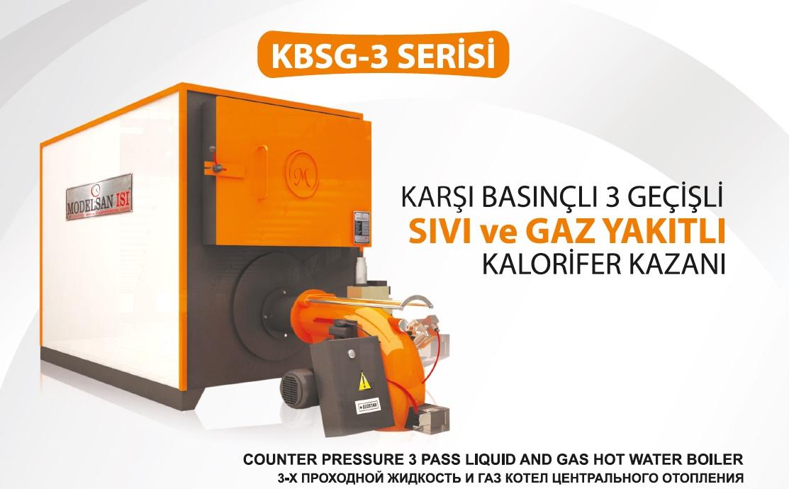 Gas Liquid Fuel Heating Boiler KBSG-3 Series