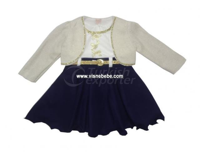 Vestido Bolero Tricot