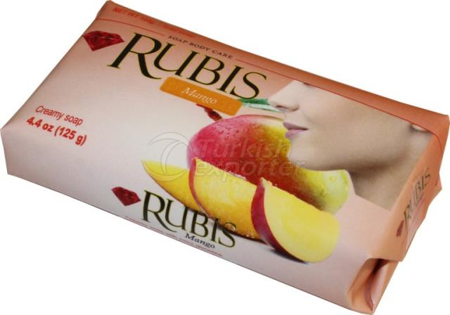 Paper Wrapped Soaps Rubis Mango 125 gr