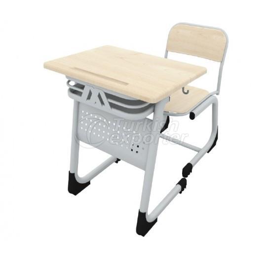 Single Werzalit School Desk