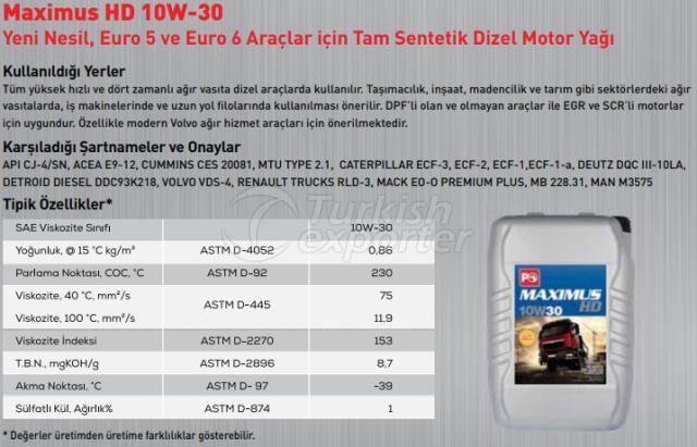 Maximus Hd 10W-30