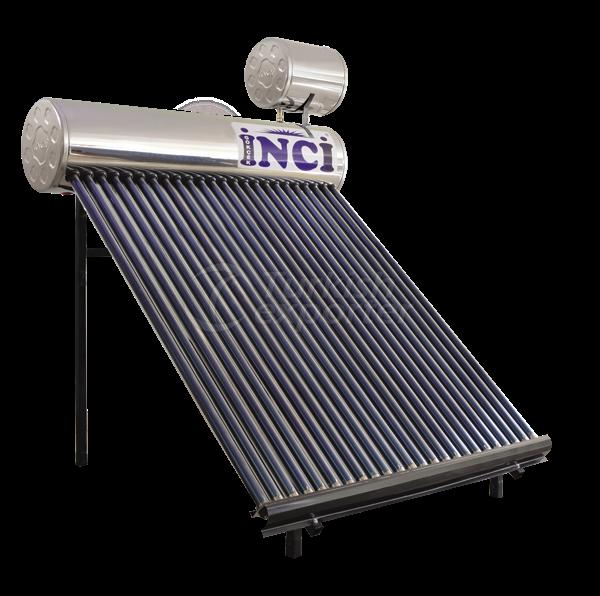 24 Vacuum Tubes 30 LT Chrome Solar Water Heater