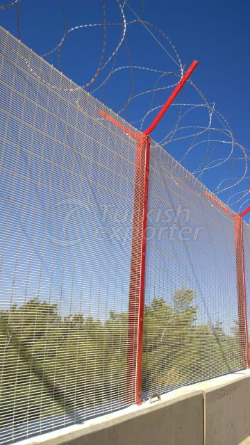 Security Panel Fence