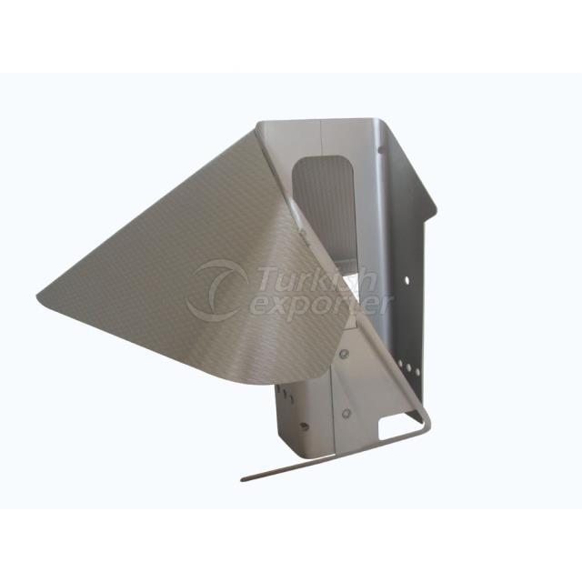 Collier à rayon rectangulaire YSM-203