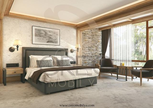 Chalet Hotel Room