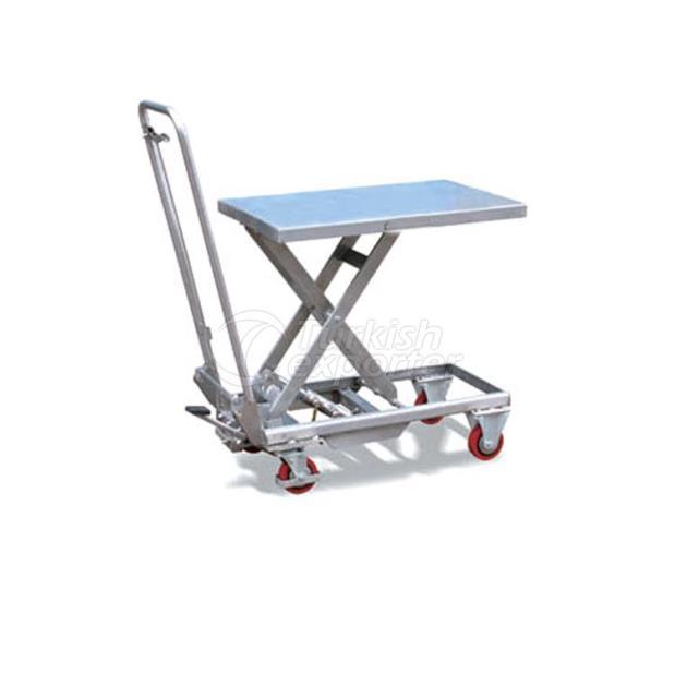 Table élévatrice en acier inoxydable NL-STT 10