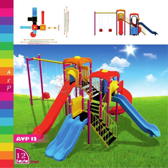 Oyun Parkı Ekipmanları