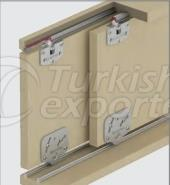 Adjustable Sliding Door System M03 0171