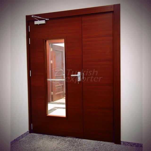 Fire Resistant Wooden Door