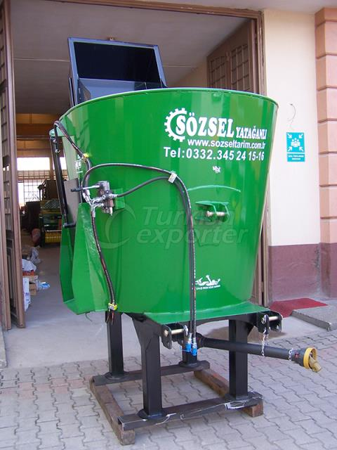 Vertical Feed Mixing Machine