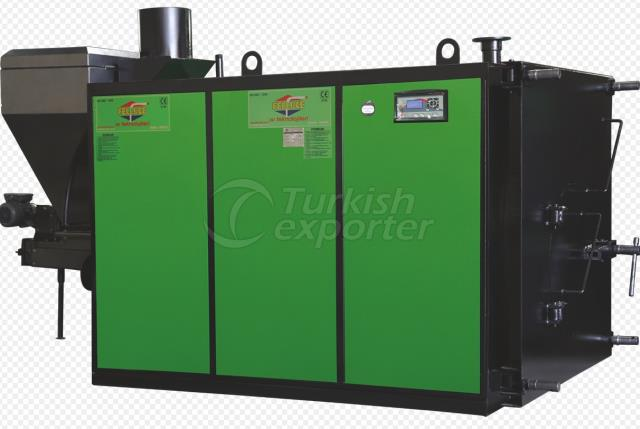 Central Full Cylindrical Piston Heating Boiler