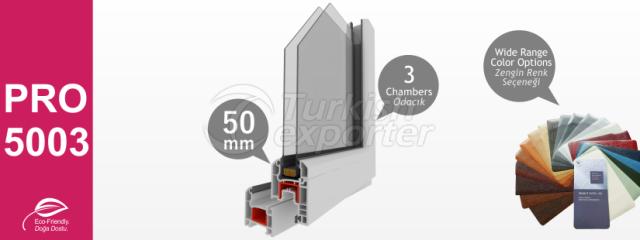 PRO5003 Series PVC Profiles