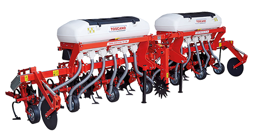 ROW CROP CULTIVATOR WITH FERTILIZER TANK