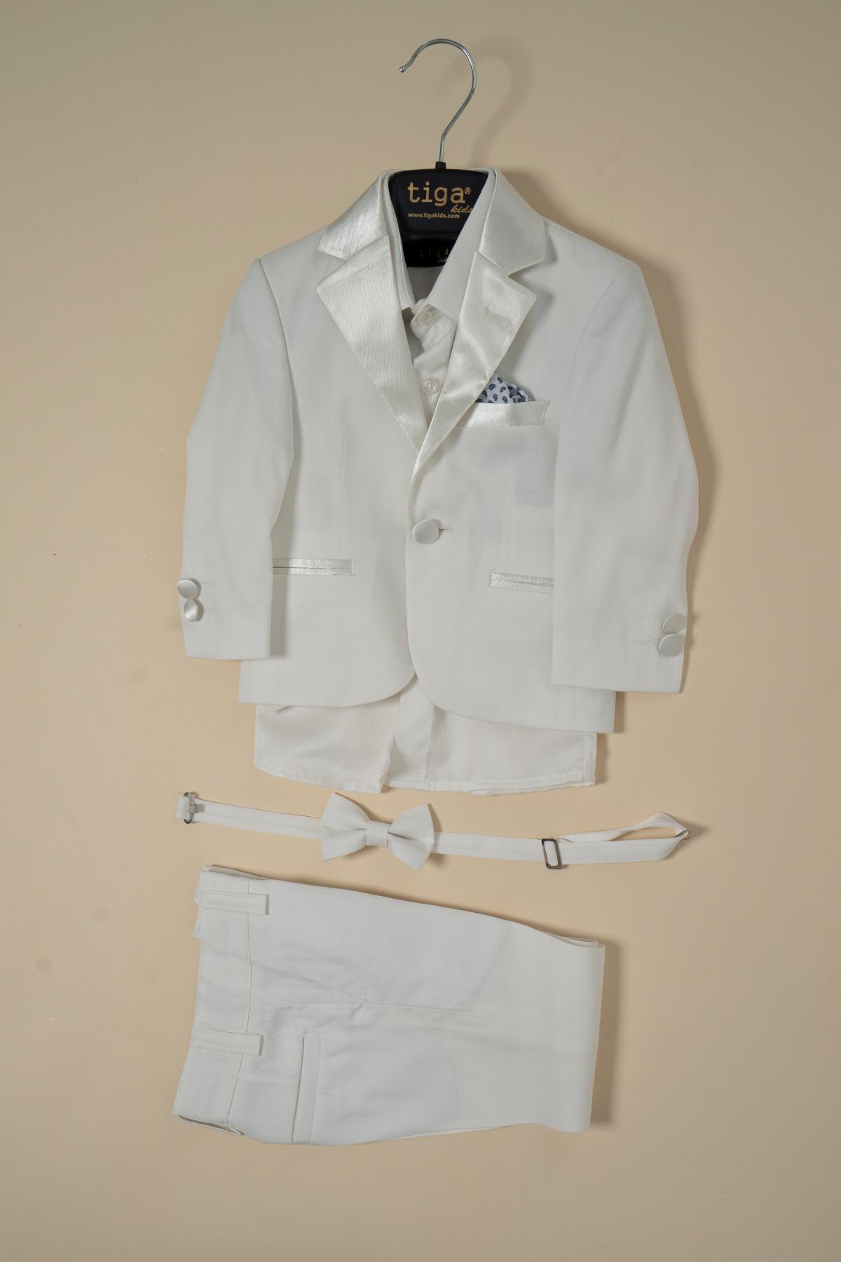 Kids Vest Suit Set