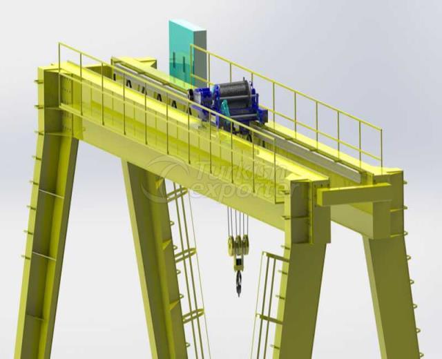 Unledged Gantry Crane