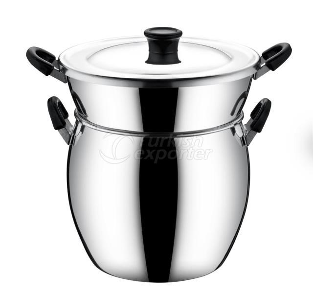 Aluminum Couscous Saucepan