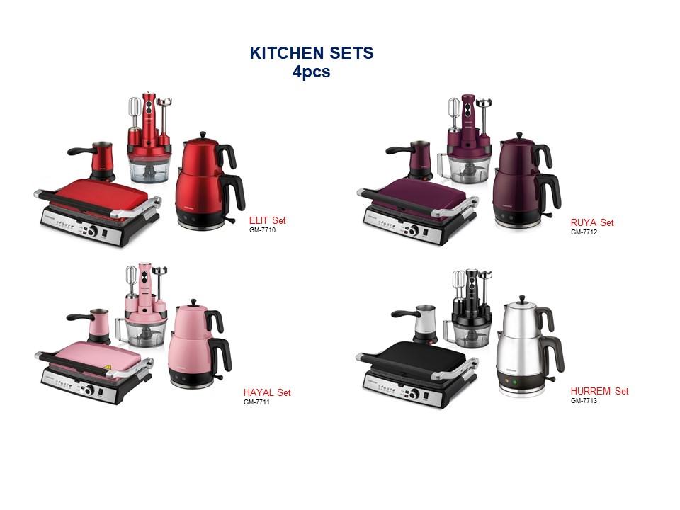 Conjunto de cozinha-4 unidades
